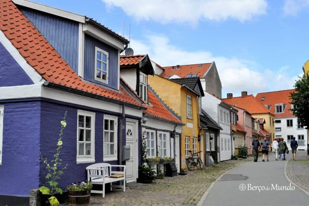 centro histórico de Aalborg, Dinamarca