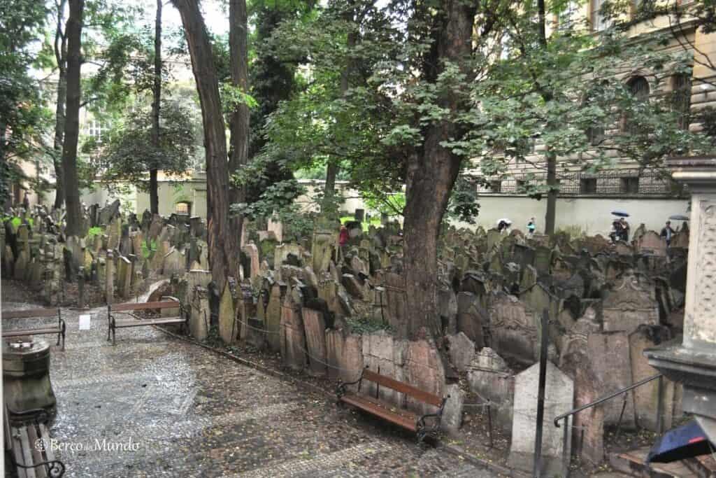 cemitério judaico de Praga